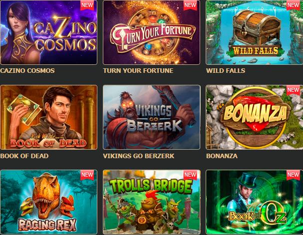 Демо слоты ROX Casino
